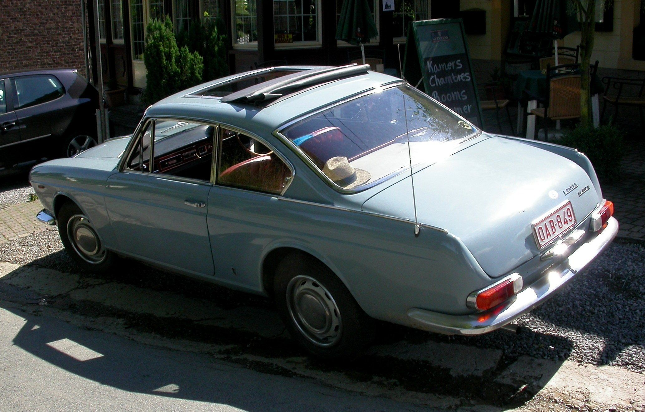 1963 only cars and cars lancia flavia coupe 18 vanachro Choice Image